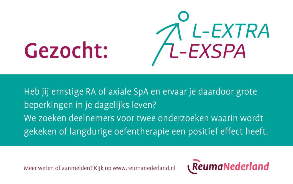 Oproep deelnemers onderzoek RA of axiale SpA